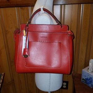 DOONEY BOURKE  RED ALTO  GIORGINA SATCHEL